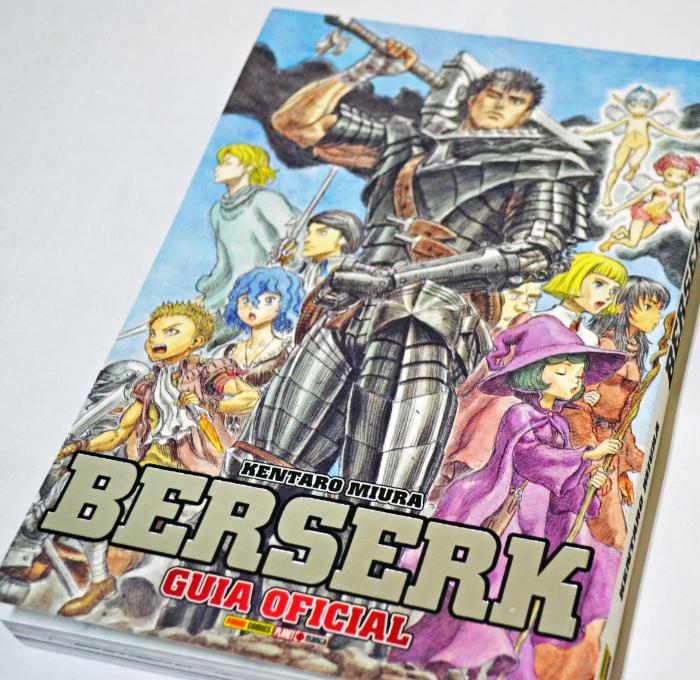 Berserk Guia Oficial: Desde o Espadachim Negro até a chegada à Ilhas dos Elfos
