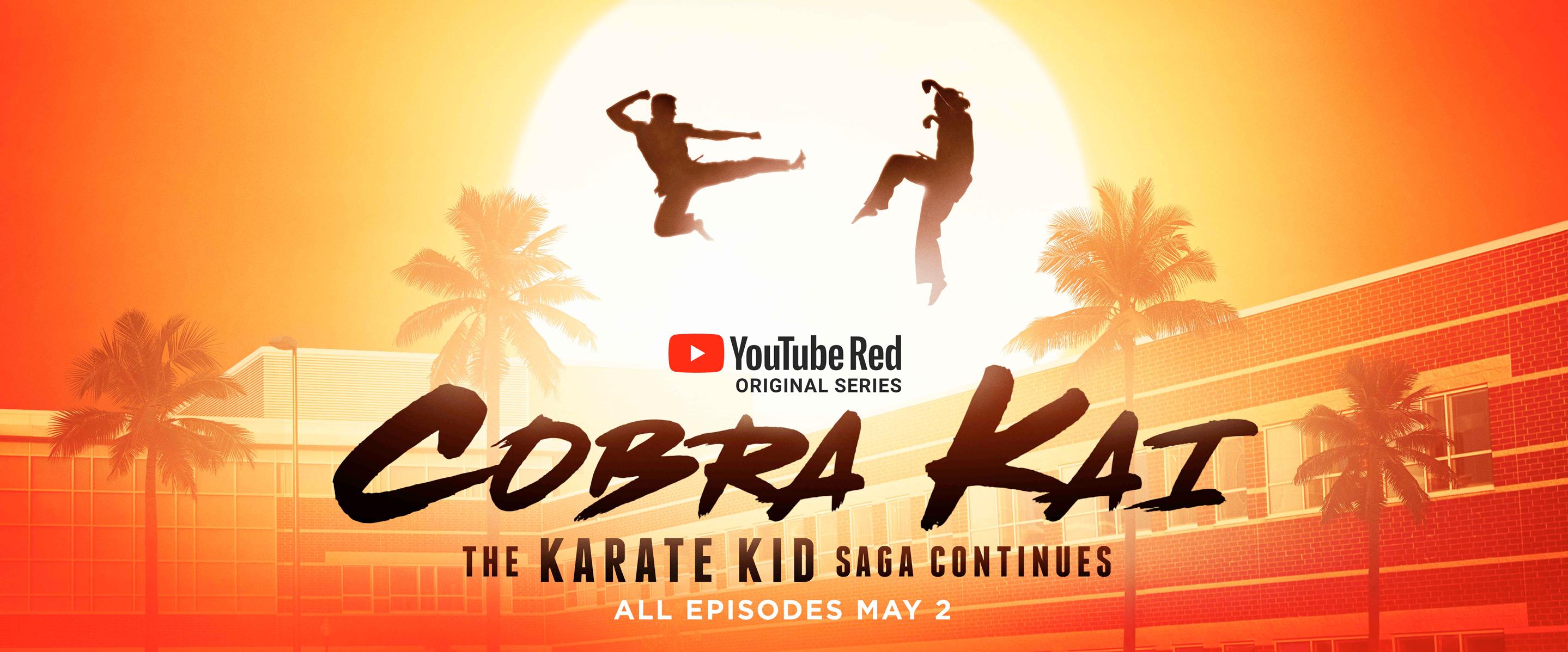 "Cobra Kai: O retorno do ""Karate Kid"""