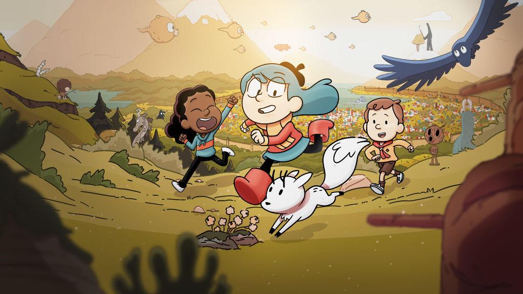 Hilda: Uma Aventura pelo Imaginário Infantil