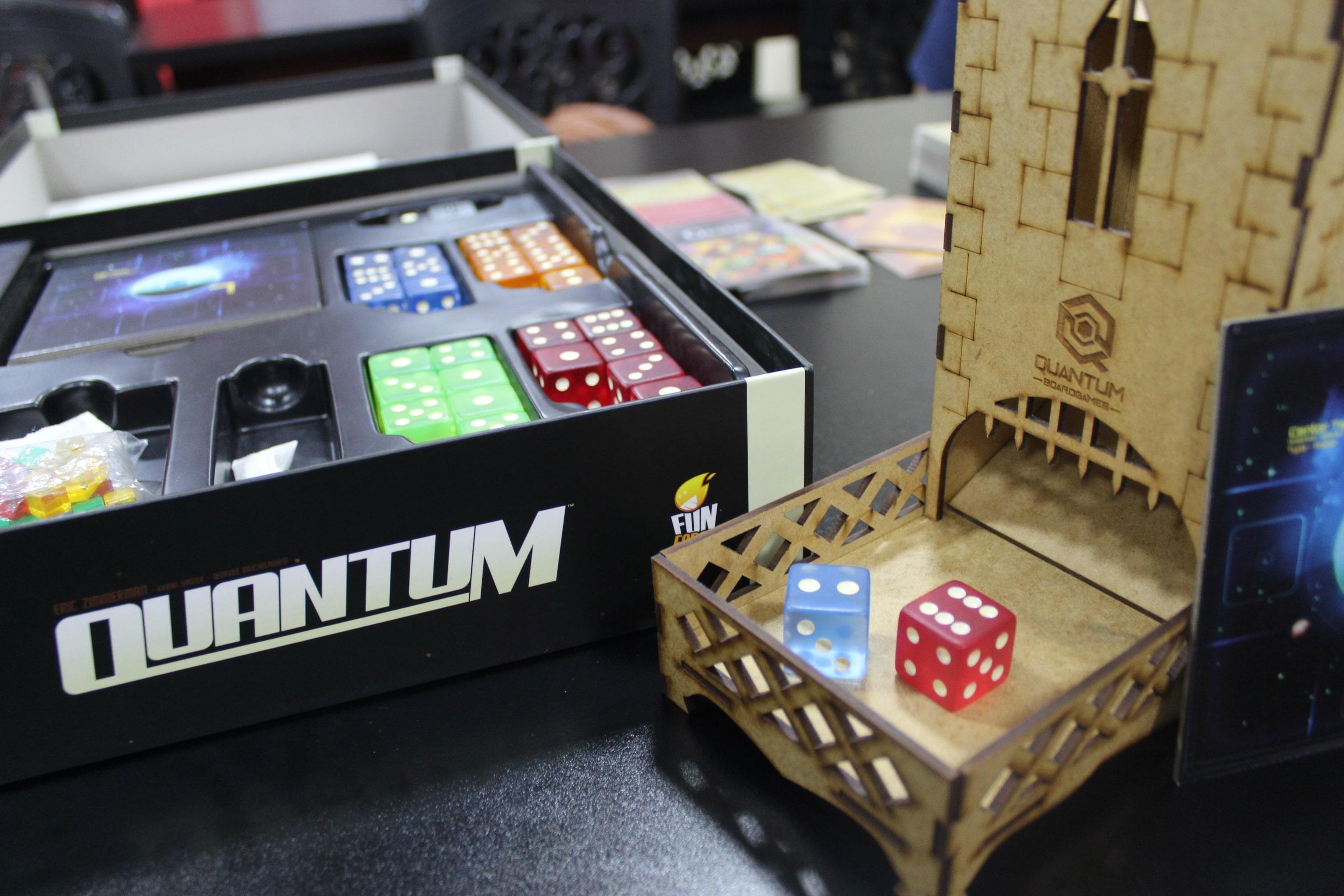 Espaços nerds em Fortaleza: Quantum Boardgames
