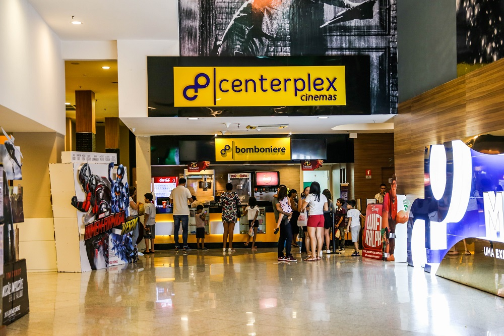 Centerplex do Via Sul Shopping realiza promoção de Carnaval