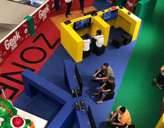 North Shopping Fortaleza recebe área interativa com jogos e atividades de temática geek