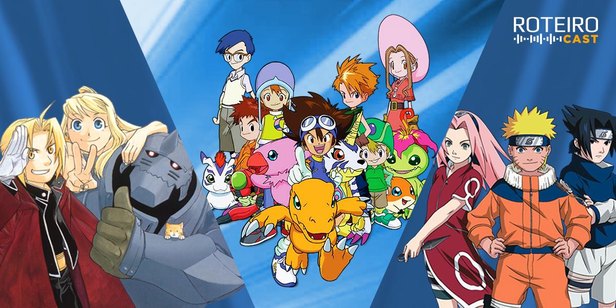 ROTEIRO CAST: Animes clássicos escolhidos por nós! #24